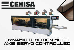 Download PDF For Pricing: Cehisa C-Motion Edgebander - Full Servo Driven Machine,