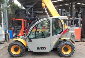 Telehandler For sale- Dieci Low Hours 2012 Model 2.5 ton 6m Boom fitted with 360 degree rotator