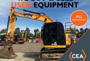 WE BUY USED EXCAVATORS - ALL MAKES AND MODELS