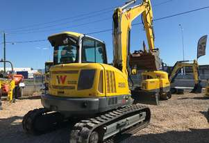 Wacker Neuson EZ80 8ton class zero tail swing with Tilt hitch