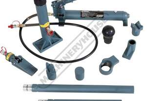 PBK-10H Hydraulic 10T Panel Beating Kit - 14 Piece  10 tonne Ram - Range 322 ~ 452mm, 130mm Stroke