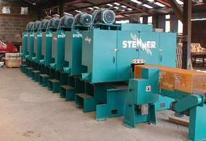 STENNER MHS9 MULTI HEAD HORIZONTAL RESAW