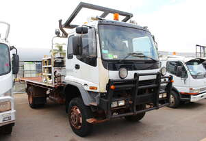Isuzu 2005 F3 FTS Tray Top Cab Chassis Truck