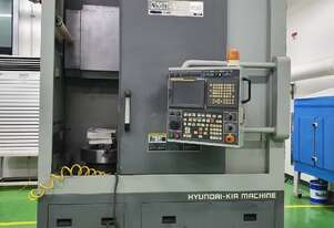2010 Hyundai Wia SKT-V80RM CNC Vertical Turn Mill