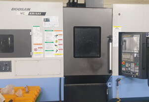2017 Doosan VC630-5AX Simultaneous 5-Axis Vertical Machining Centre