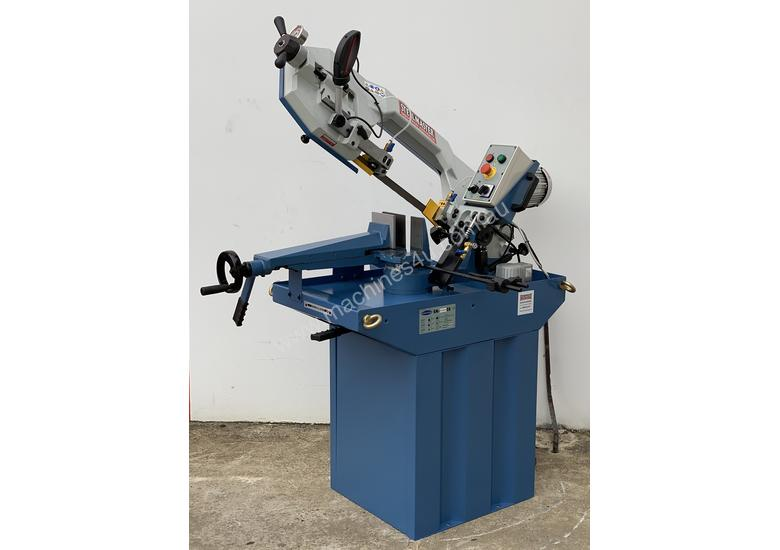 Industrial 245mm x 180mm Mitre Cutting Bandsaw & Stand 240V or V Made in Taiwan