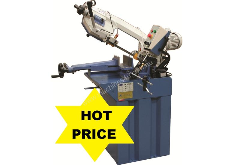 Industrial 245mm x 180mm Mitre Cutting Bandsaw & Stand