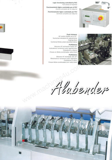 Casadei industria Alubender for ACM