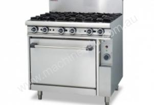 Trueheat R90-6 Gas Heated Range With 6 Open Burner