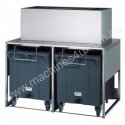 Brema Model DRB100 Double Roller  Ice Bin 50Kg Sto