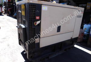 20kva silenced , mitsubishi driven , 2007 model