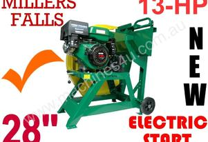 Log Saw FIRE WOOD saw 13-hp E-START Branded item++