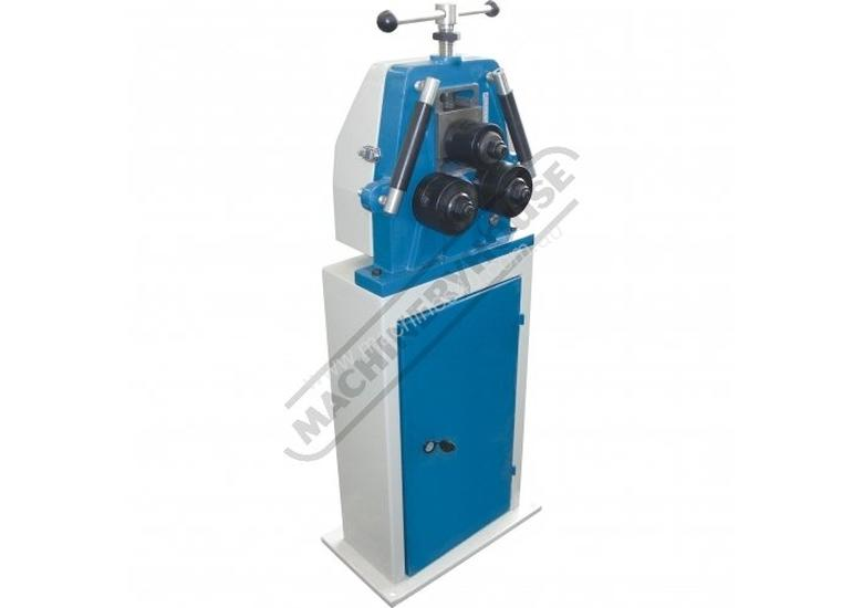 RR-10 Manual Section & Pipe Rolling Machine 50 x 10mm Flat Bar Capacity