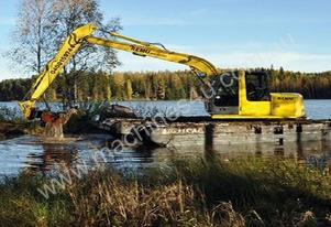 REMU Big Float - Amphibious Excavator