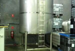10,000lt Single Skin Stainless Steel Tank
