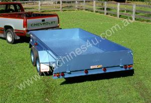 No.10A Tandem Axle Box Trailer 2.5m x 1.5m (8x5)