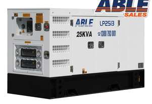 25 kVA Diesel Generator 415V - Forward (Formerly Isuzu) Powered