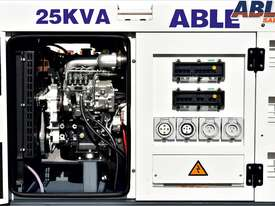 25 kVA Diesel Generator 415V - Forward (Formerly Isuzu) Powered - picture1' - Click to enlarge