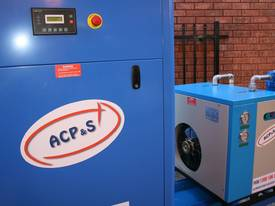 15hp 11kW Rotary Screw Air Compressor Package with Tank, Dryer & Oil Removal Filters - picture1' - Click to enlarge