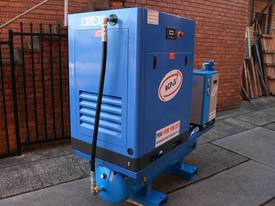 15hp 11kW Rotary Screw Air Compressor Package with Tank, Dryer & Oil Removal Filters - picture2' - Click to enlarge