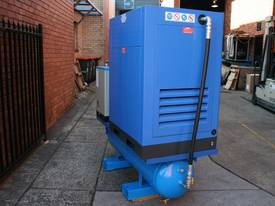15hp 11kW Rotary Screw Air Compressor Package with Tank, Dryer & Oil Removal Filters - picture4' - Click to enlarge