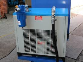 15hp 11kW Rotary Screw Air Compressor Package with Tank, Dryer & Oil Removal Filters - picture5' - Click to enlarge