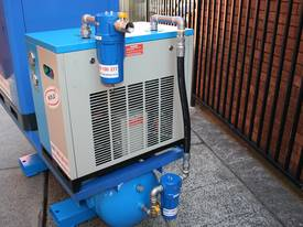 15hp 11kW Rotary Screw Air Compressor Package with Tank, Dryer & Oil Removal Filters - picture7' - Click to enlarge