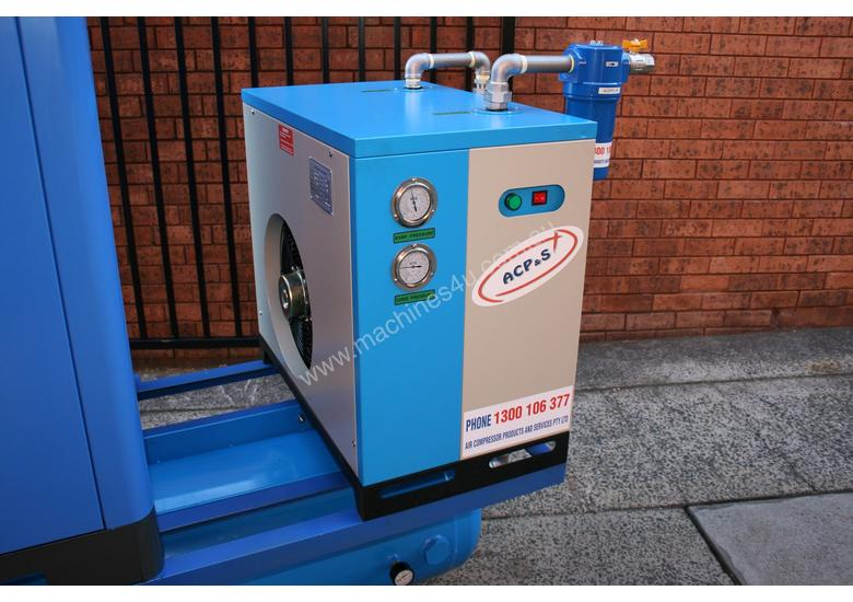 15hp 11kW Rotary Screw Air Compressor Package with Tank, Dryer & Oil Removal Filters