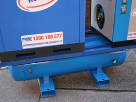15hp 11kW Rotary Screw Air Compressor Package with Tank, Dryer & Oil Removal Filters - picture11' - Click to enlarge