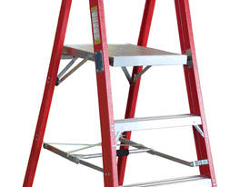 1.2m Fiberglass Platform Step Ladder
