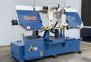 H-400 - Heavy Duty Twin Column Bandsaw  - 400mm x 400mm Capacity Swarf Conveyor