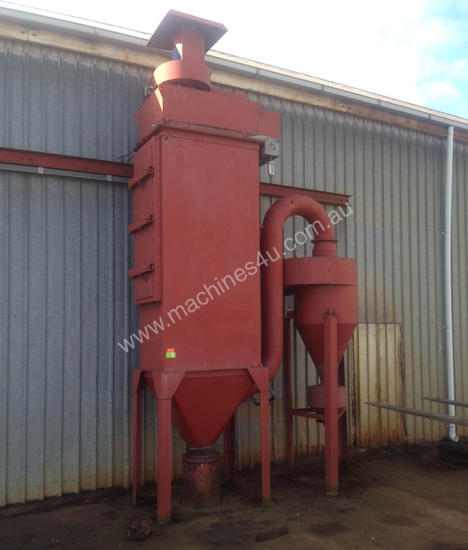 Exhaust fume extraction dust extractor 3 phase 5.5