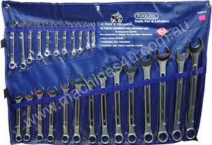 SPANNER SET METRIC 25 PIECE RING/OPEN