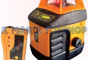 AUTO LASER LEVEL KIT  W/ TRIPOD & STAFF