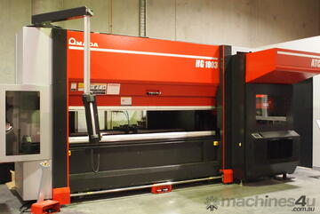 HG ATC - Press brake with high speed Automatic Tool Changer. Perfect for High Mix Low Volume work