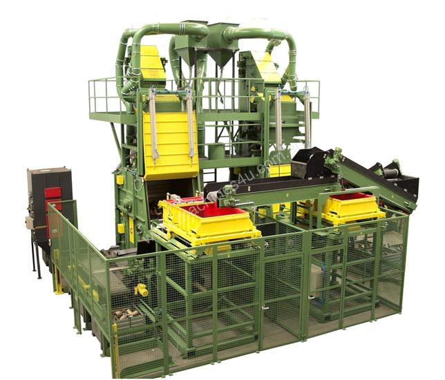 Rosler Tumble Belt Machines