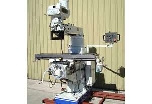 TOPTEC X-6330 *VARIABLE SPEED TURRET MILL*