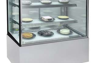 Bromic 900mm Square Glass Cake Display FD0900