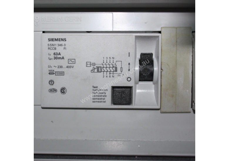 Used 3 phase power distribution board with RCD Distribution Board in ...