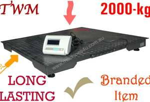 Pallet Floor Scale 2-ton 1200 x 1200mm Digital box