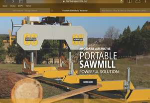 SAWMILL Norwood frontier Sawmill  OS27 13.5HP Portable Band saw  Mill Sawmill Australian design