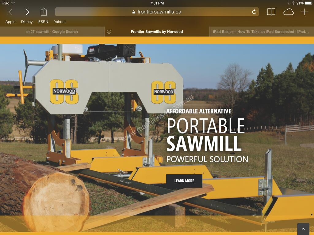 Bandsaw Mill For Sale >> New 2018 Norwood Sawmills Sawmill Norwood Frontier Sawmill Os27 13 5hp Portable Band Saw Mill Sawmill Australian Design Sawmills Portable In West