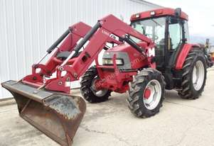 McCormick CX85 85HP 4x4 Tractor w/ Loader, Bucket, Forks