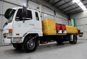Mitsubishi FK600 Fighter Water truck Truck