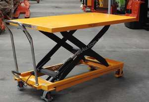 500kg hydraulic scissor lift table/trolley-extra large