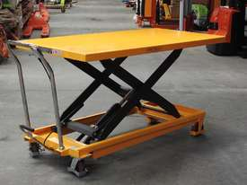 500kg hydraulic scissor lift table/trolley-extra large - picture0' - Click to enlarge