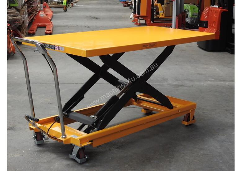 Delicieux 500kg Hydraulic Scissor Lift Table/trolley Extra Large