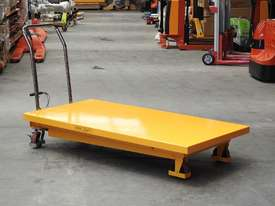 500kg hydraulic scissor lift table/trolley-extra large - picture1' - Click to enlarge