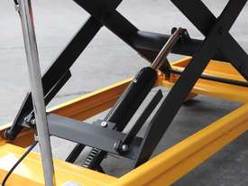 500kg hydraulic scissor lift table/trolley-extra large - picture2' - Click to enlarge