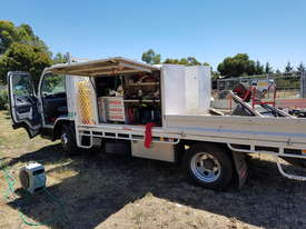 Fuso 815 Mitsubishi 2015  with tray and tool boxes - picture1' - Click to enlarge